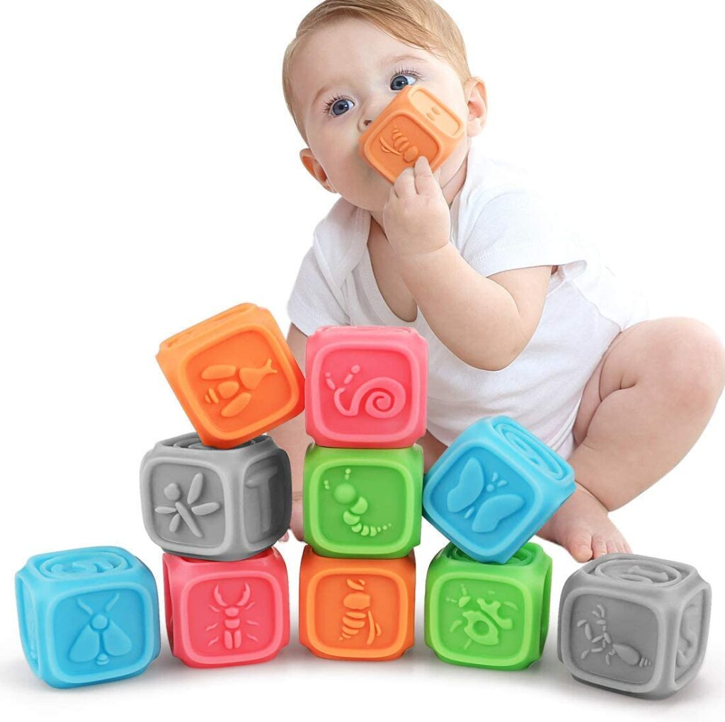 bloques apilables para bebes