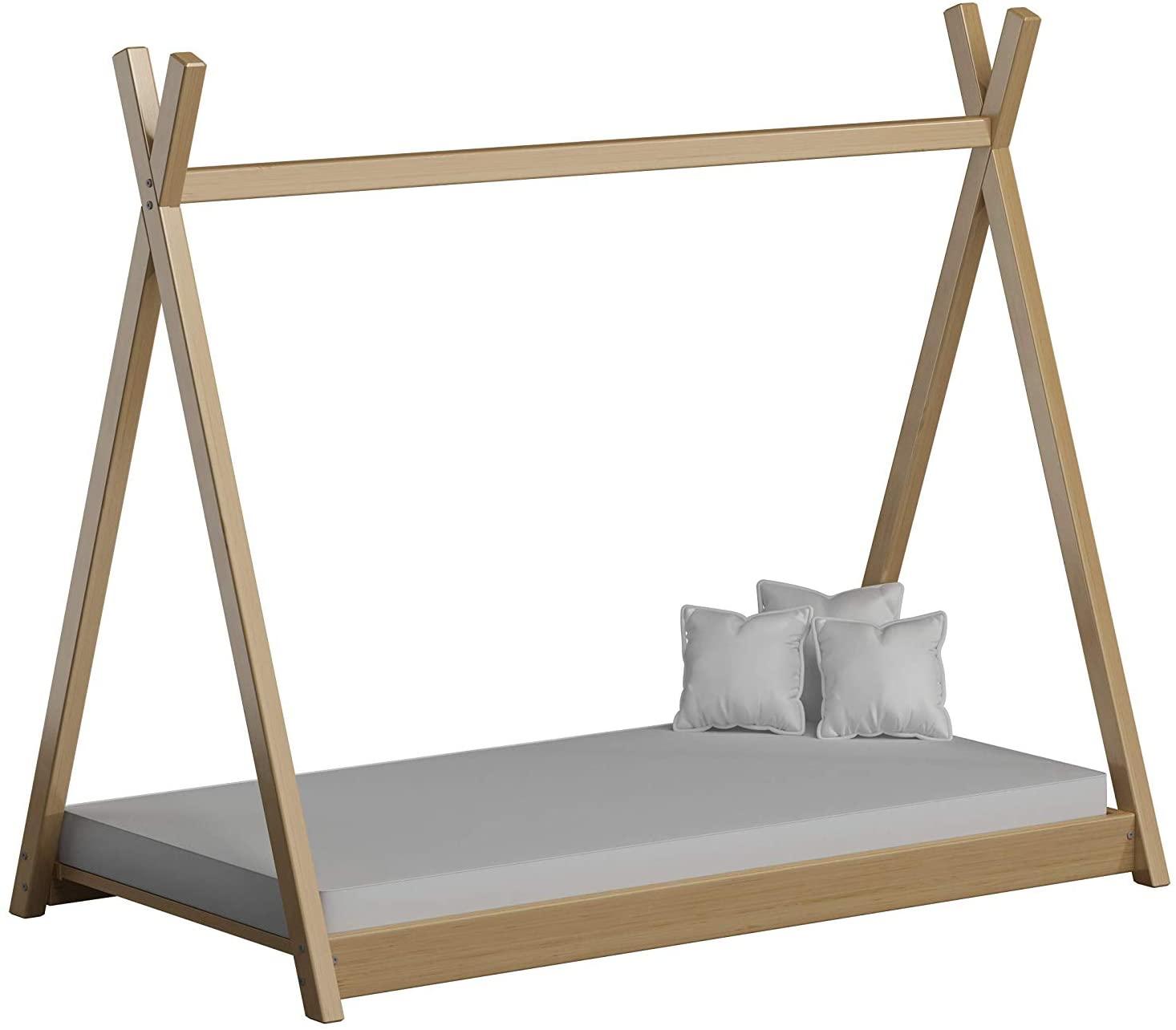 cama barata estilo montessori