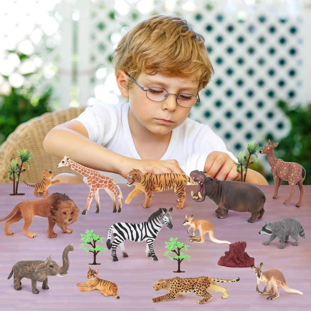 figuras de animales de juguete