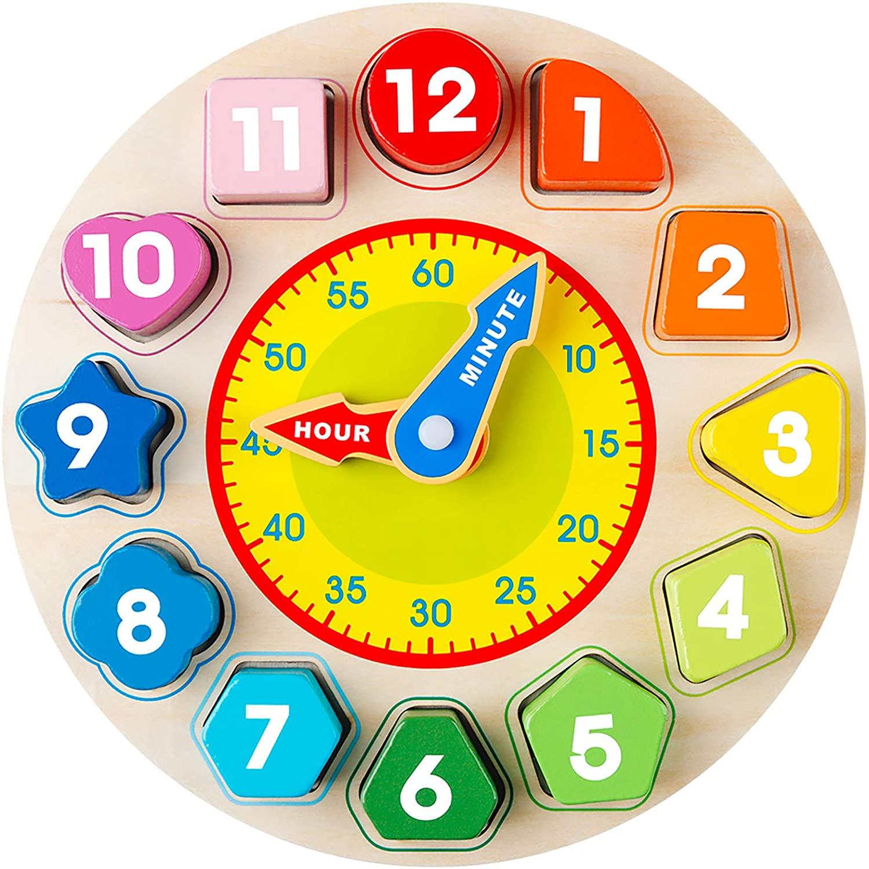 reloj para aprender la hora
