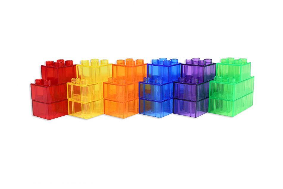 bloques traslucidos para niños